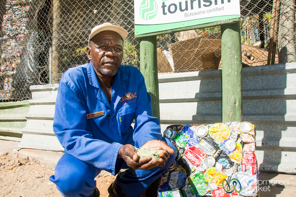 Recyling and Waste Disposal at Chobe Game Lodge - Chobe, Botswana