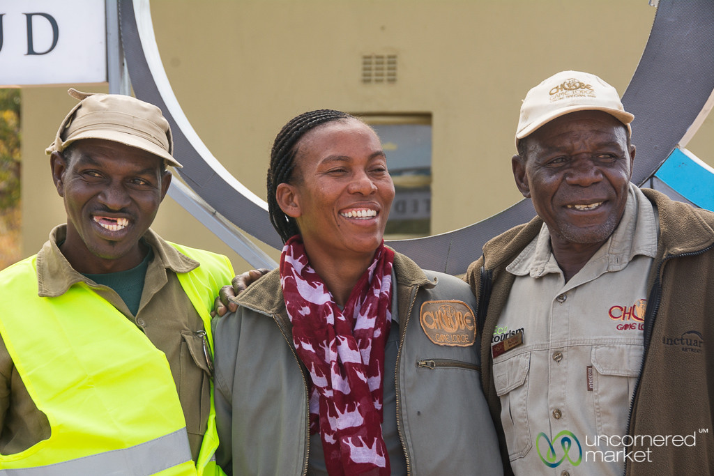 Limbo, Lynn and Albert - Great Ambassadors for Botswana