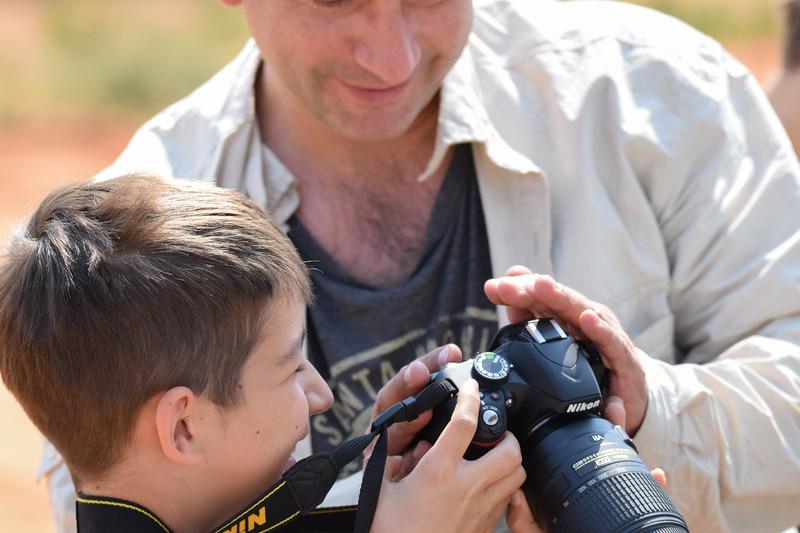 New photographer was born in Botswana.