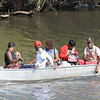Chobe river is also used for local transportation.