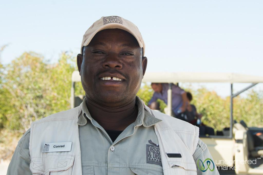 Conrad, Guide at Camp Xakanaxa, Botswana