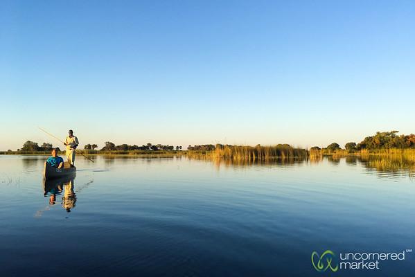 Mokoro Ride Through the Okavango Delta - Camp Okavango, Botswana
