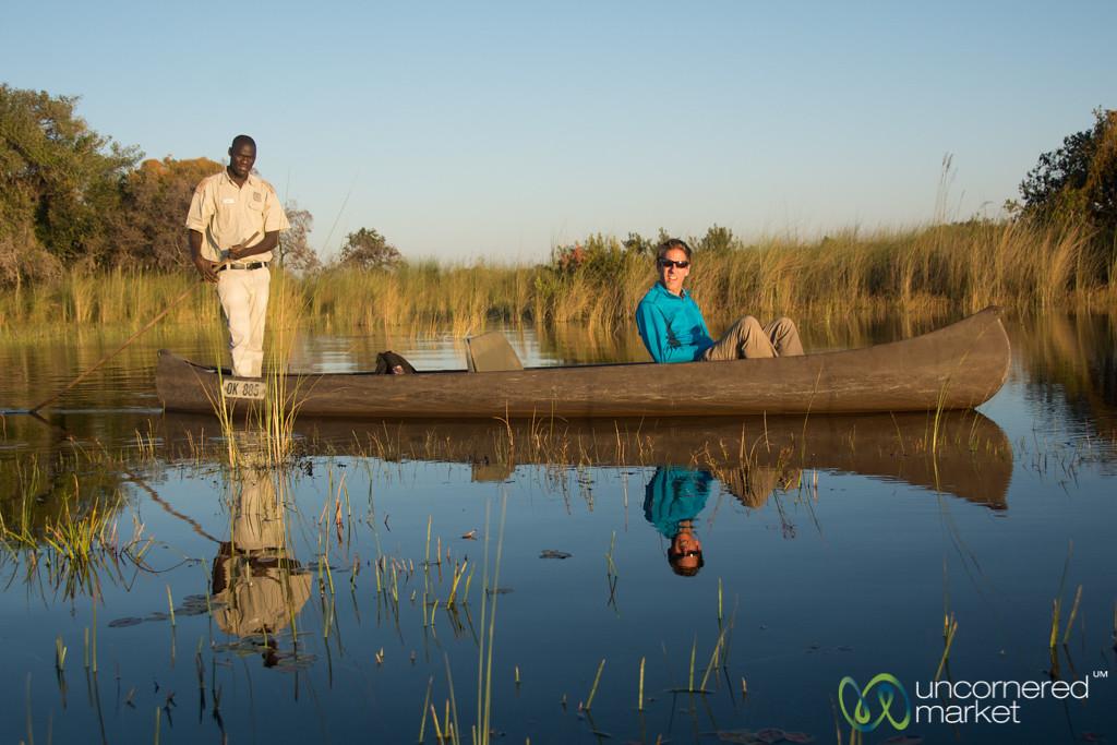 Mokoro Ride, Camp Okavango - Botswana