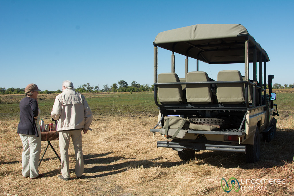 Morning Coffee Break in Moremi Game Reserve - Botswana