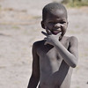 Girl from the village in Okavango Delta