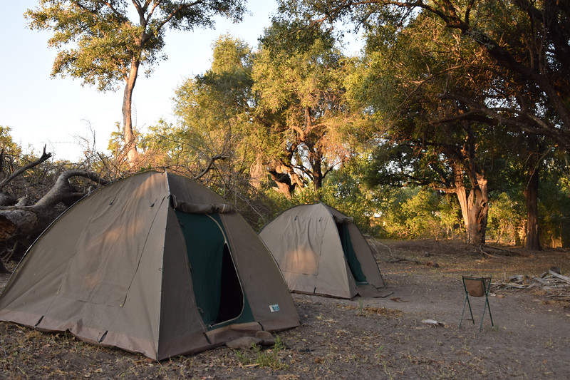 Our camp on Chief's Island