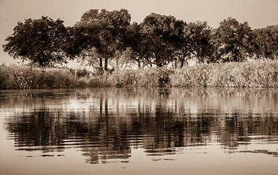 Reflection at Pepere island.