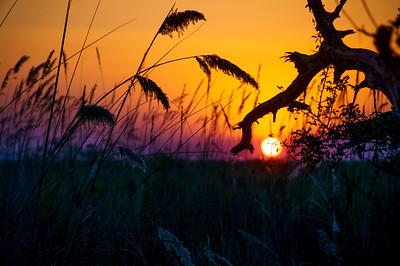 Stunning sunset at Pepere island.