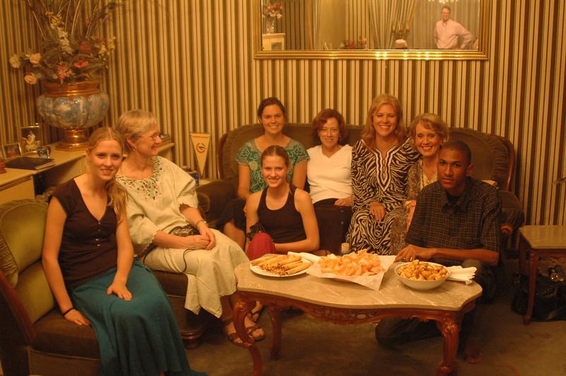 "Dinner at Home of Garoua ""Businessman"" Sali Baka"