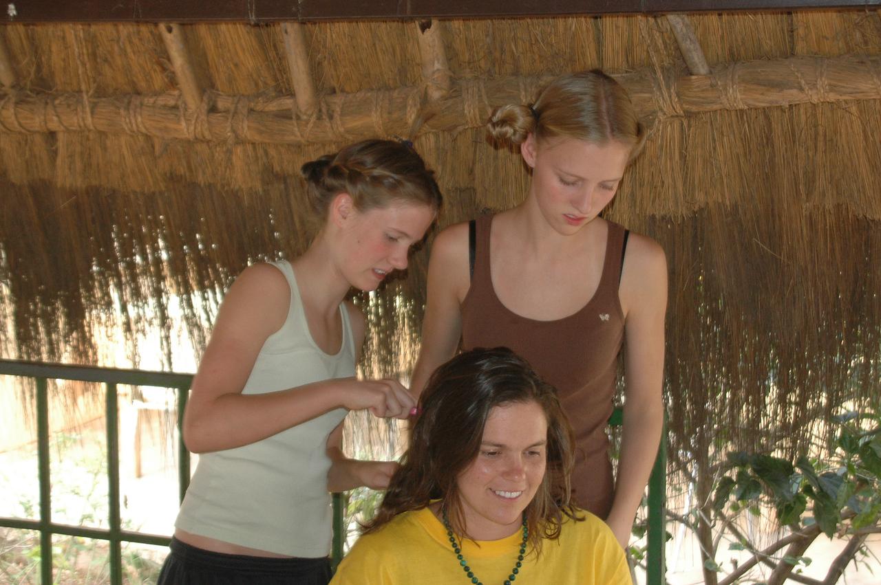 Yani, Tori, Cousin Kacie