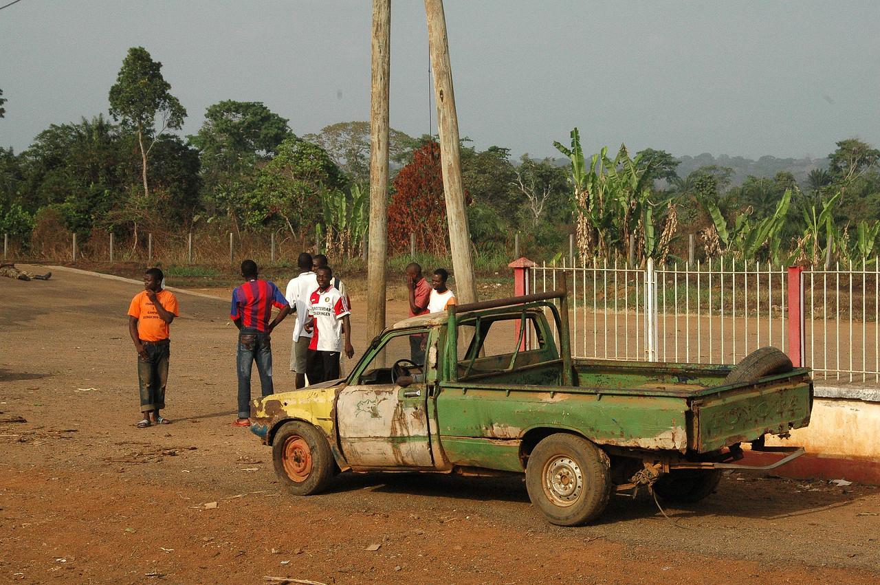 Voiture Africaine