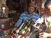 Father and son, Foumban market