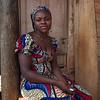 Woman, Foumban market