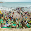Cape Coast Beach Day