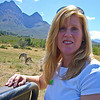 Me on safari - so excited!