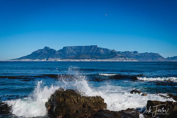Cape Town Skyline from Riobben Island