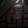 Minbar detail, Friday mosque, Mutsamudu, Anjouan.  This beautiful minbar was brought first from Mayotte to the old capital at Domoni, and then to Mutsamudu.