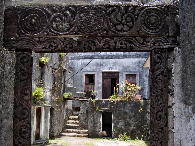 Courtyard, Moroni, Grande Comore