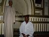 Muezzin and member of congregation, Friday mosque, Mutsamudu, Anjouan