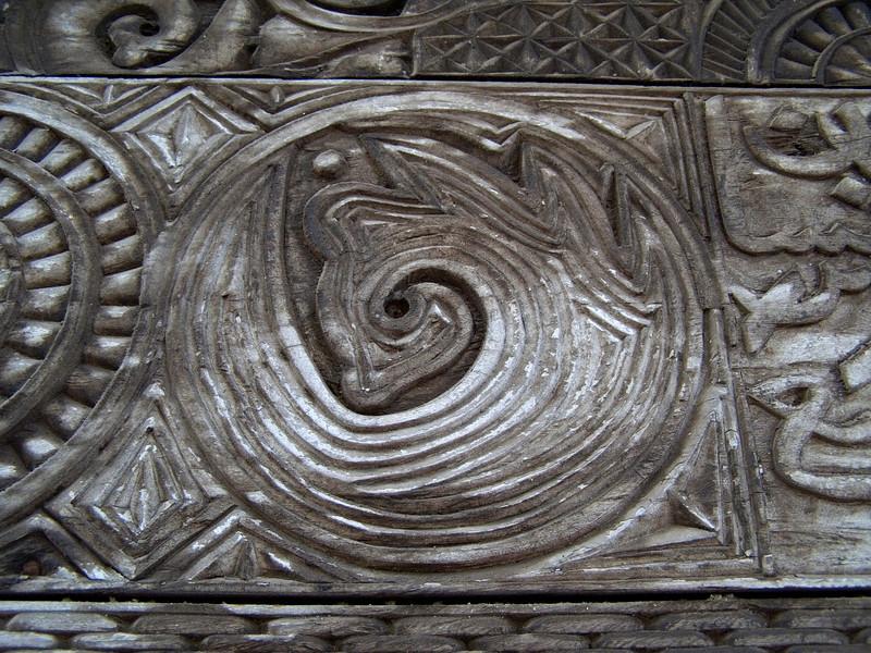 Mosque lintel detail, Iconi, Grande Comore