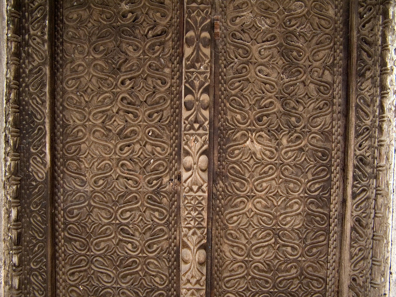 Carved door, Mutsamudu, Anjouan