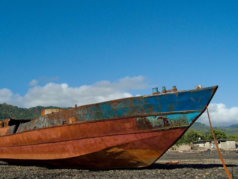 Dry dock, Bangoma, Moheli