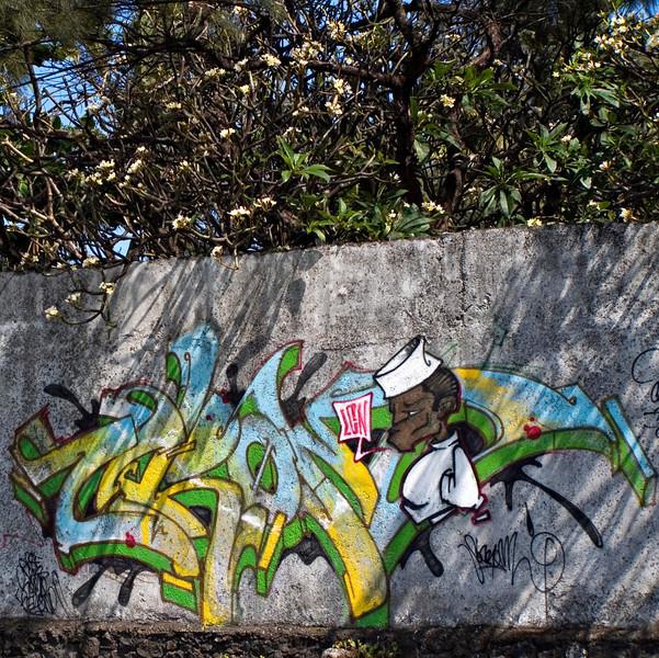 Graffiti, Moroni, Grande Comore