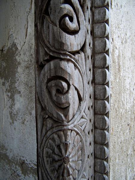 Mosque entryway detail, Iconi, Grande Comore