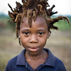 Liberian Boy with wild hair