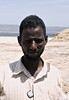 Man, Lac Assal, Djibouti
