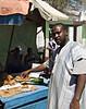 Fish seller, Hargeisa, Somaliland.
