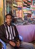 Fabric seller, Hargeisa, Somaliland