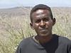 Man, near Lac Assal, Djibouti