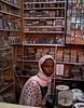 Somali woman, Djibouti City, Djibouti.  She let me take her photo--a rarity in these parts.