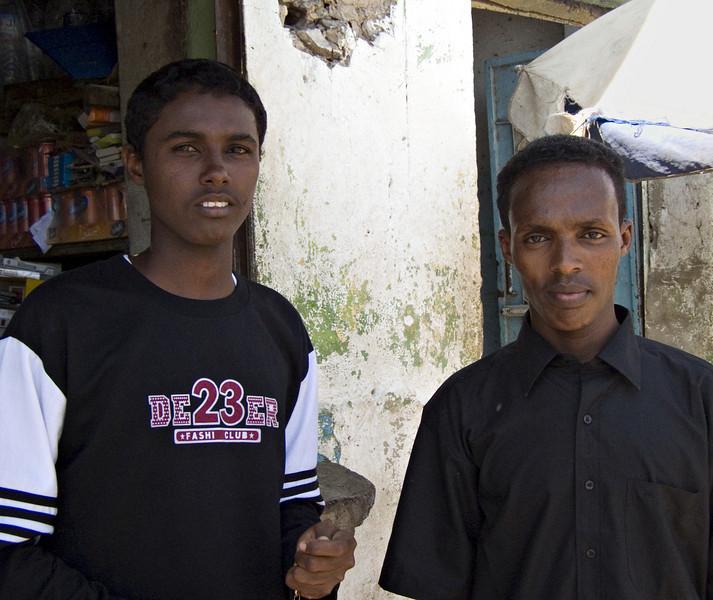 Friends, Djibouti City, Djibouti.  From Hargeisa I flew back to Djibouti.