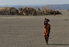 Girl, east of Lac Abbe, Djibouti