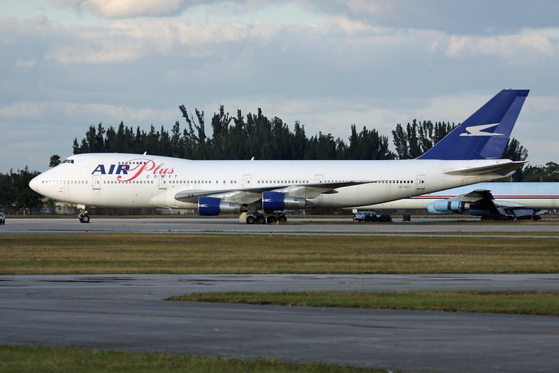 "J2-KCV Boeing 747-212B ""Global Aero Investments"" c/n 21938 Opa Locka/KOPF/OPF 03-12-08 ""MPD c/s"""