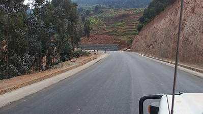First section of the Congo-Nile trail.  The Chinese road builders got there first.