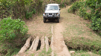 Another interesting bridge on the Congo-Nile trail