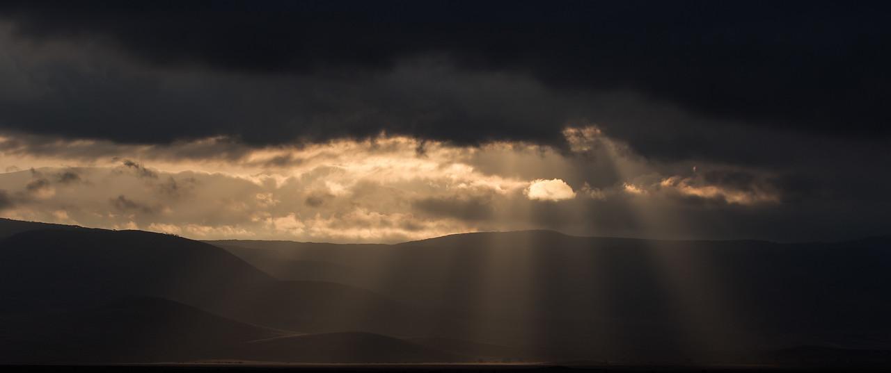 Sunrise in the Ngorongoro Crater