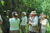 Our ranger/guide briefs us on the flora and fauna on the way to the waterfalls