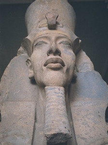 At the Egyptian museum, Cairo