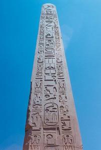 Oblelisk at Karnak Temple
