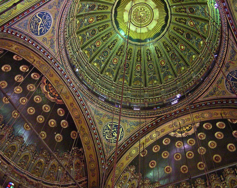 Ceiling, Mohamed Ali Mosque, Cairo
