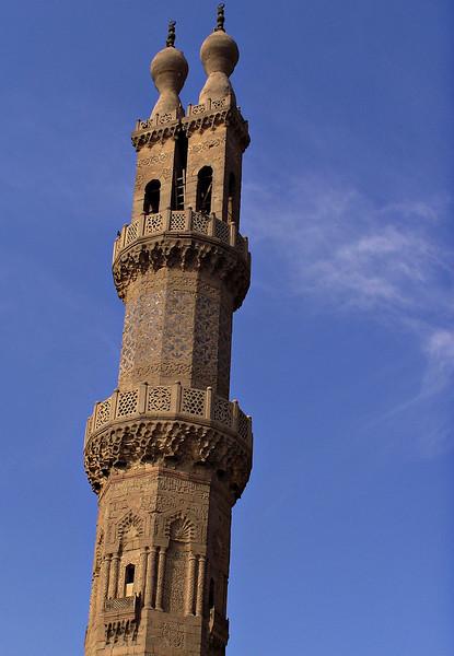 Minaret, Al-Azhar Mosque, Cairo