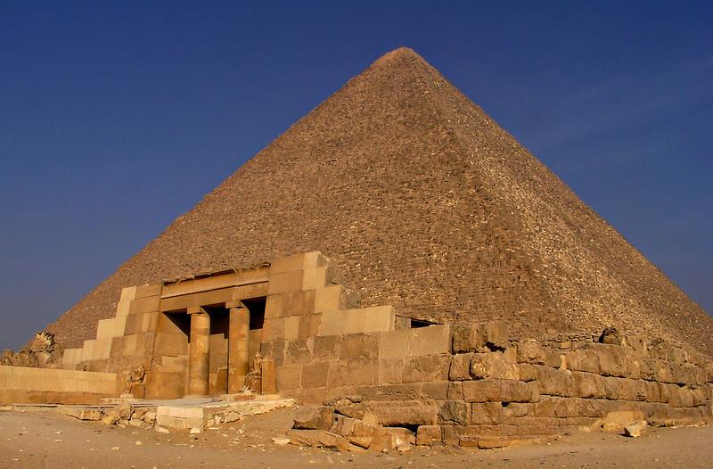 Mastaba and Khufu (Cheops) Pyramid