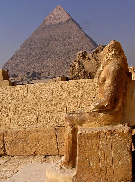 Mastaba (tomb) of Seshemnefer entrance, Giza
