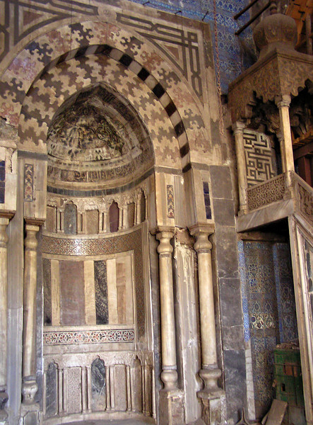 Mosque of Emir Aqsunqur (Blue Mosque), Cairo
