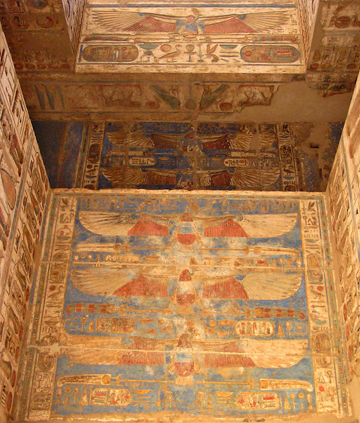 Ceiling, Medinat Habu, Luxor