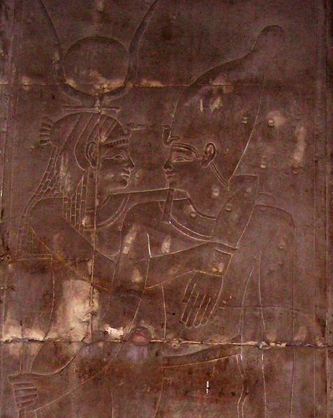 Interior relief, Temple of Horus, Edfu